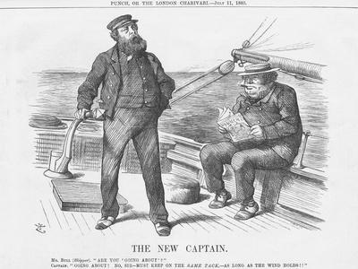 The New Captain, 1885