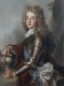 Portrait of France Philip, Duke of Anjou (1683-1746) by Joseph Vivien
