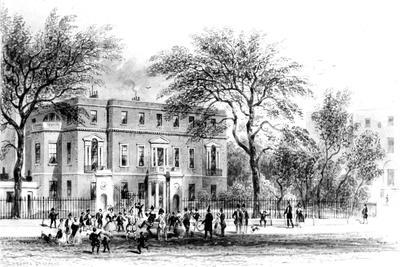 Mrs Montagu's House, Portman Square