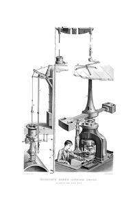 Boulton's Screw Coining Press, as Used in the Royal Mint, 1866 by Joseph Wilson Lowry