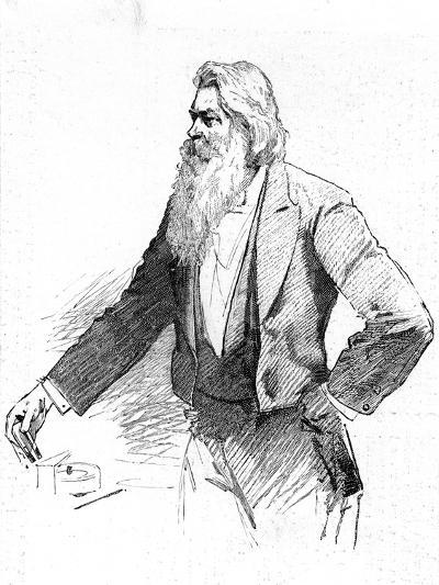 Joseph Wilson Swan, British Physicist and Chemist, Demonstrating Electromagnetism, 1889--Giclee Print