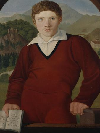 Portrait of a Young Man with a Copy of the Nibelungenlied, 1800