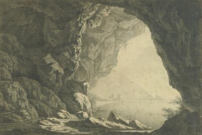 A Grotto in the Gulf of Salerno, Morning, C.1800 by Joseph Wright of Derby