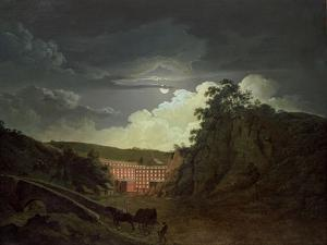 Arkwright's Cotton Mills, 1790s by Joseph Wright of Derby