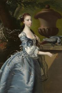 Miss Jane Monck, 1760 by Joseph Wright of Derby