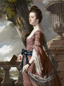 Mrs Frances Hesketh, C.1769 by Joseph Wright of Derby