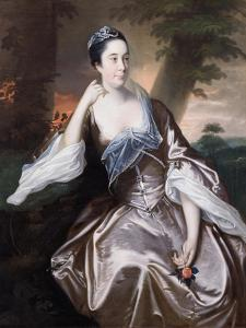 Mrs Lawrence Monck, 1760 by Joseph Wright of Derby