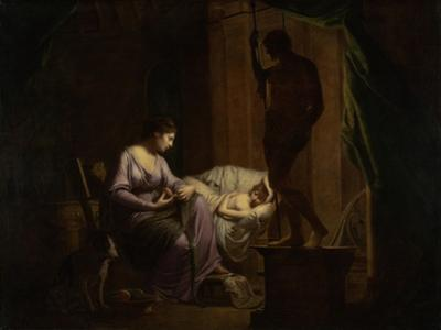 Penelope Unraveling Her Web, 1783-4 by Joseph Wright of Derby