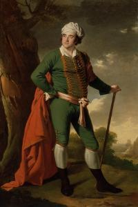 Portrait of a Man, known as the 'Indian Captain', C.1767 by Joseph Wright of Derby