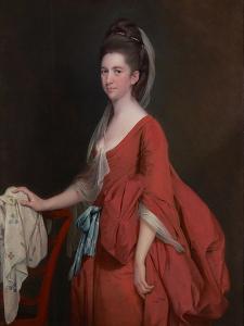 Portrait of Dorothy Beridge, Nèe Gladwin (D.1792) 1777 by Joseph Wright of Derby