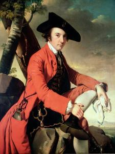 Portrait of Fleetwood Hesketh (1738-69) 1769 by Joseph Wright of Derby