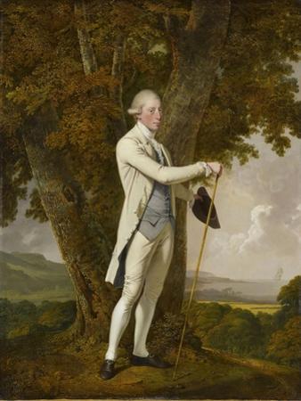 Portrait of John Milnes by Joseph Wright of Derby