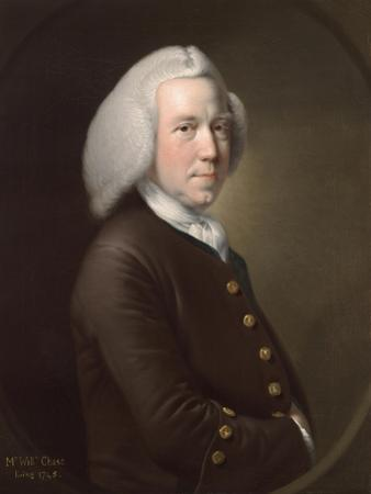 Portrait of Mr. William Chase, Sr., c.1760-65 by Joseph Wright of Derby
