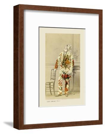 Joseph-Philippe Debongnie-Framed Art Print