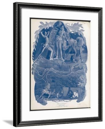 Josephine Baker Folies Bergere Dancer in 'La Folie Du Jour' - the Madness of the Day.--Framed Photographic Print