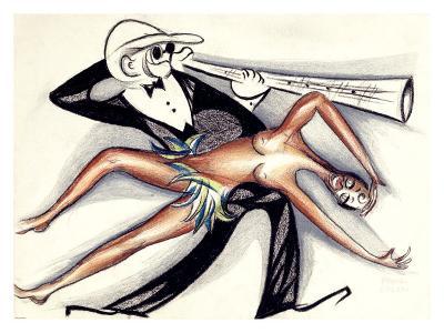 Josephine Baker Jazz Band--Giclee Print