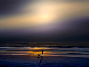 Night Stroll by Josh Adamski
