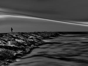 On the Rocks Bw by Josh Adamski