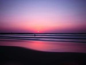 Pink Horizon by Josh Adamski