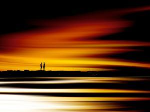 Two Men by Josh Adamski
