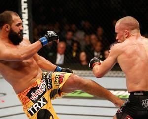 UFC 167: Nov 16, 2013 - Johny Hendricks vs Georges St-Pierre by Josh Hedges