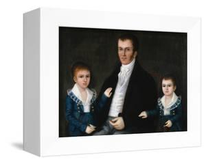 Portrait of John Jacob Anderson and His Sons, Edward and William by Joshua Johnson