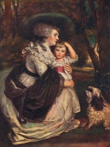 Lavinia, Countess Spencer (1762-183), and John Charles Spencer, Viscount Althorp (1782?184), 1906 by Joshua Reynolds