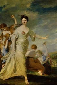 Mrs. Hale as Euphrosyne by Joshua Reynolds
