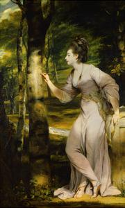 Portrait of Joanna Lloyd of Maryland by Joshua Reynolds