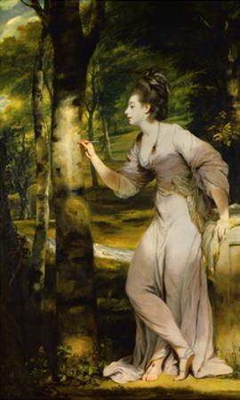 Portrait of Joanna Lloyd of Maryland