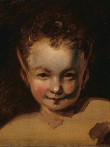 Puck or Robin Goodfellow by Joshua Reynolds