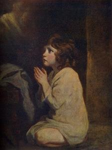 The Infant Samuel, C1776 by Joshua Reynolds