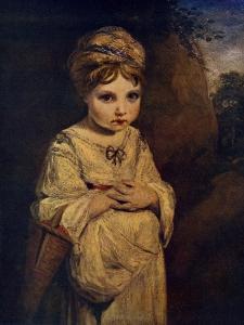The Strawberry Girl, C1770S by Joshua Reynolds