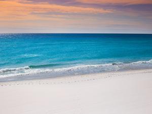 Calm White Pensacola Beach Vacation Spot by Joshua Whitcomb