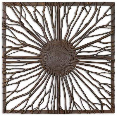 Josiah Square Wooden Wall Art--Home Accessories