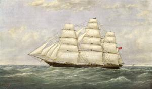 British Sailing Clipper for the China Tea Trade by Josiah Taylor