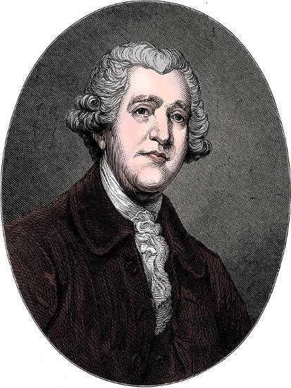 Josiah Wedgwood, 18th century English industrialist and potter, c1880-Unknown-Giclee Print
