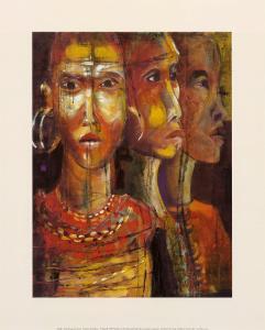 Tribal Ancestry III by Josiane York