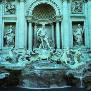 Italy, Rome, Trevi Fountain by JoSon