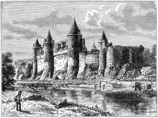Josselin Chateau, France, 1898-Dosso Dossi-Giclee Print