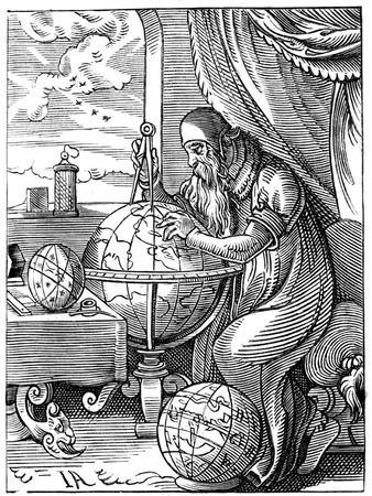 A German Man of Letters, 16th Century