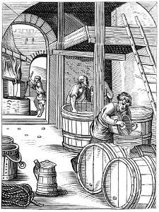Brewer, 16th Century by Jost Amman