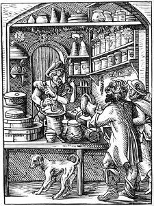 Druggist, 16th Century by Jost Amman