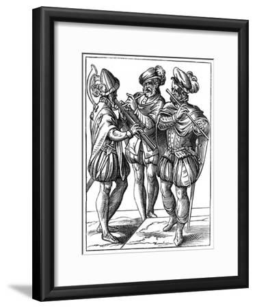 Flute and Cornetto Players, 16th Century