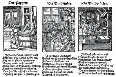 German Book Manufacture in the 16th Century