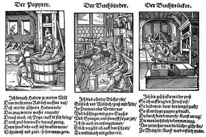 German Book Manufacture in the 16th Century by Jost Amman