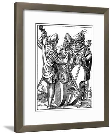 German Musicians, 16th Century