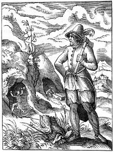 Miner, 16th Century by Jost Amman