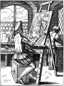 Painter, 16th Century by Jost Amman
