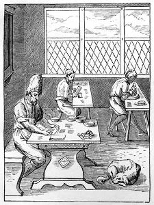 Pin and Needle Maker, C1559-1591 by Jost Amman